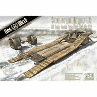 Das Werk DW35002 Sonderanhanger 115 - 10ft Tank Trailer 1:35 Plastic Model Kit