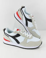 Diadora Scarpe Sneakers Sportive Ginnastica OLYMPIA Bianco Nero footwear
