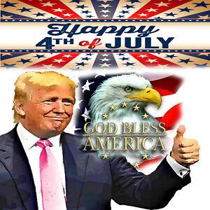 Donald J. Trump 4th of July Card