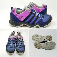 Adidas Terrex AX2R Purple Hiking Trail Running Shoes Sneakers Womens Size 9