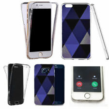 Blue Silicone/Gel/Rubber Mobile Phone Cases, Covers & Skins for Samsung Galaxy S7 edge
