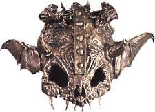 Morris Costumes Adult Unisex New Horror Latex Rubber Half Skull Helmet Mask. AM4