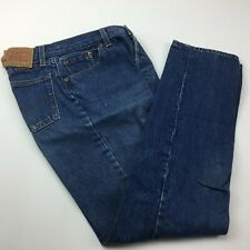 Levi's Levi Strauss & Co Women's Blue Button Fly Jeans Casual Everyday Size 11