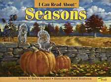 """I Can Read About Seasons"" BRAND NEW! ENGLISH SCIENCE PAPERBACK Ages 7-9"