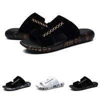 Mens Summer Beach Walking Pool Slip on Cut out Casual Slingbacks Slippers Shoes