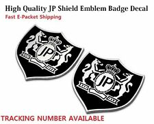 3D Luxury Metal VIP JP Logo Car Hood Sticker JUNCTION PRODUCE Emblem Badge Decal