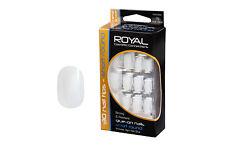Royal False Nail Tips & Glue Natural Short Round