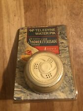 Teledyne WaterPik The Original Shower Massage Fixed Mount Shower Head New