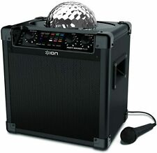 ION Party Rocker Plus Portable Rechargeable Bluetooth Party Speaker