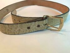 Tony Lama: Elephant hide Men's belt with Bonded leather backing, NEW, size 40