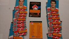 1991 Team Canada Collector's Edition Alberta International Hockey Tour Set of 23