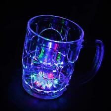 4 LED Flashing Light up Drink Beer Water Cups Glasses Wedding Hen Stag Party Bar