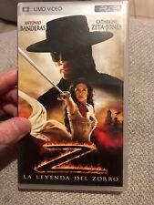 The Legend Of Zorro Umd
