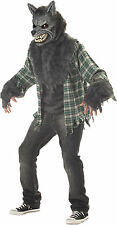 HALLOWEEN ADULT FULL MOON MADNESS WEREWOLF WOLF  COSTUME MASK PROP LARGE