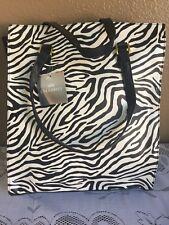 Celebrity Zebra Tote/Hand Bag