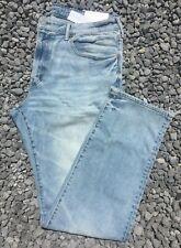 NWT American Eagle Men's FLEX Original Straight Light Wash Jeans 34 x 34 (4557)