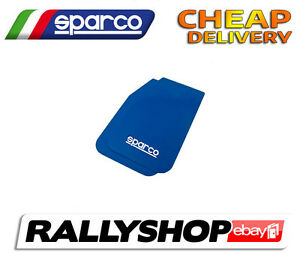 SPARCO Universal MUDFLAPS BLUE 2 PIECES IN SET CHEAP DELIVERY WORLDWIDE