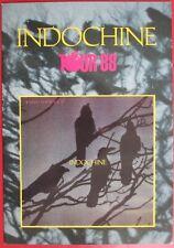 "INDOCHINE - RARE PROGRAMME ""TOUR 88"""