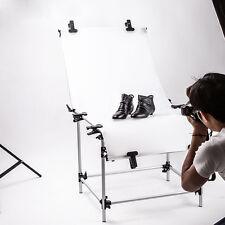 Portable Photography Photo Studio Product Display Shooting Table 60x130cm Clamps