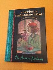 The Austere Academy UK - 1st *SIGNED* 9/23/2003 - A Series of Unfortunate Events