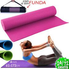 Esterilla para Yoga Gimnasia Colchoneta de Fitness Pilates deporte Alfombra Mat