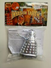 Dr Who Product Enterprise Chrome Talking Movie Dalek 7cm tall. Sealed. Numbered