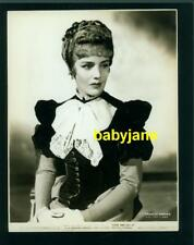 FRANCES FARMER VINTAGE 7X9 PHOTO 1936 IN PERIOD COSTUME COME IN GET IT