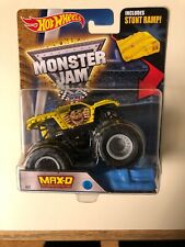 Hot Wheels Monster Jam 1:64 Max D Maximum Destruction Yellow 2016 Version #61