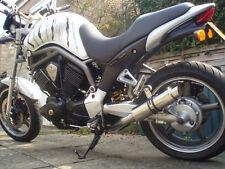 Yamaha BT1100 Bulldog SP Engineering Polished Stainless Stubby Moto GP Exhausts