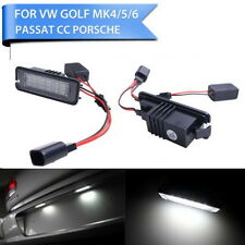 2 x LED Licence Number Plate Light Canbus VW Passat CC Polo GTI Golf MK4 MK5 MK6
