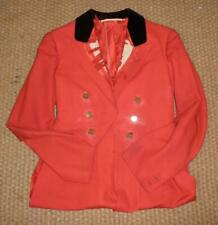 Red Evening Hunt Coat With Tails For Restoration With West Somerset Hunt Buttons