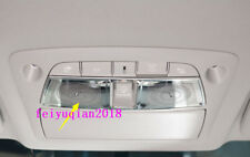 stainless inner Front Reading Light Speaker Cover For Nissan Teana Altima 13-18