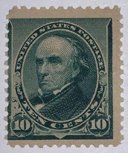 Travelstamps: 1890-93 US Stamps Scott #226 10c Webster Mint Og Never Hinged MNH