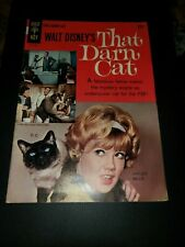 WALT DISNEY'S THAT DARN CAT #1 1965 VF