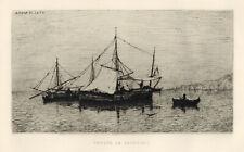 Adolphe Appian original etching
