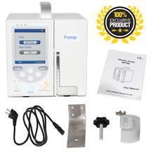 DE SP750 Volumetric Infusion Pump IV Flüssigkeitskontrollspritzenpumpe USB
