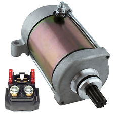 Starter & Relay Solenoid FITS YAMAHA GRIZZLY 660 YFM660 2002-2008 ATV NEW