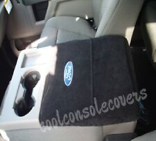 2011 - 2021 FORD F150 F250 Center Console Cover Armrest Embroidered FORD logo
