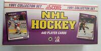 1991 Score NHL Hockey Factory 440 Card Set
