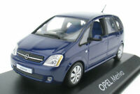 MINICHAMPS - OPEL Meriva A -blau metallic - 1:43 NEU in OVP Modellauto Model Car