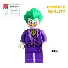 Joker Minifigure fitting Lego from Batman Movie - Certified© Durable Quality