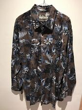 Equilibrio LONG SLEEVE SHIRT  MENS SIZE 3XL RRP $299.00 NEW