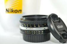 Nikon 50mm F/1.8 AI-S AIS E PRIME Pancake lens for FA FM2 F3 FE F5 F100 DF D750