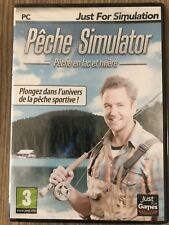 PÊCHE SIMULATOR PC FRANÇAIS NEUF BLISTER NEW SEALED