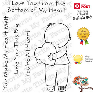 Love Stamps, I Love You This Big, From the Bottom of my Heart, My Favorite Thing