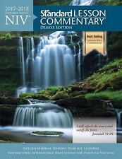 Clearance! NEW! NIV® Standard Lesson Commentary® Deluxe Edition 2017-2018 w/DVD