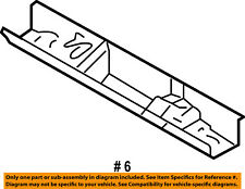 FORD OEM Floor Rails-Rear Support 5L8Z7810716AA