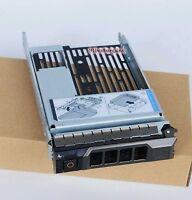 "for Dell SAS HYBRID R710 R720 R510 T610 3.5"" tray 2.5"" adapter 9W8C4 F238F"