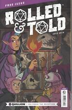 Dungeons & Dragons RPG  Rolled & Told #0 Magazine July 2018  5th Ed.  64  pg.