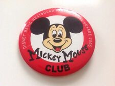 Disney Cruise Line large Button pin Captain Mickey Dcl Panama Canal Voyage